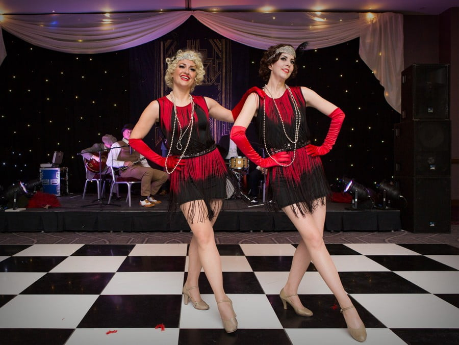 Silk Street Jazz Band | Flapper Girls