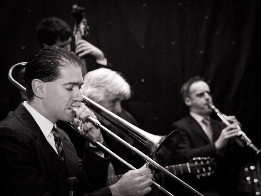 Silk Street Jazz Band | Black and White Brass