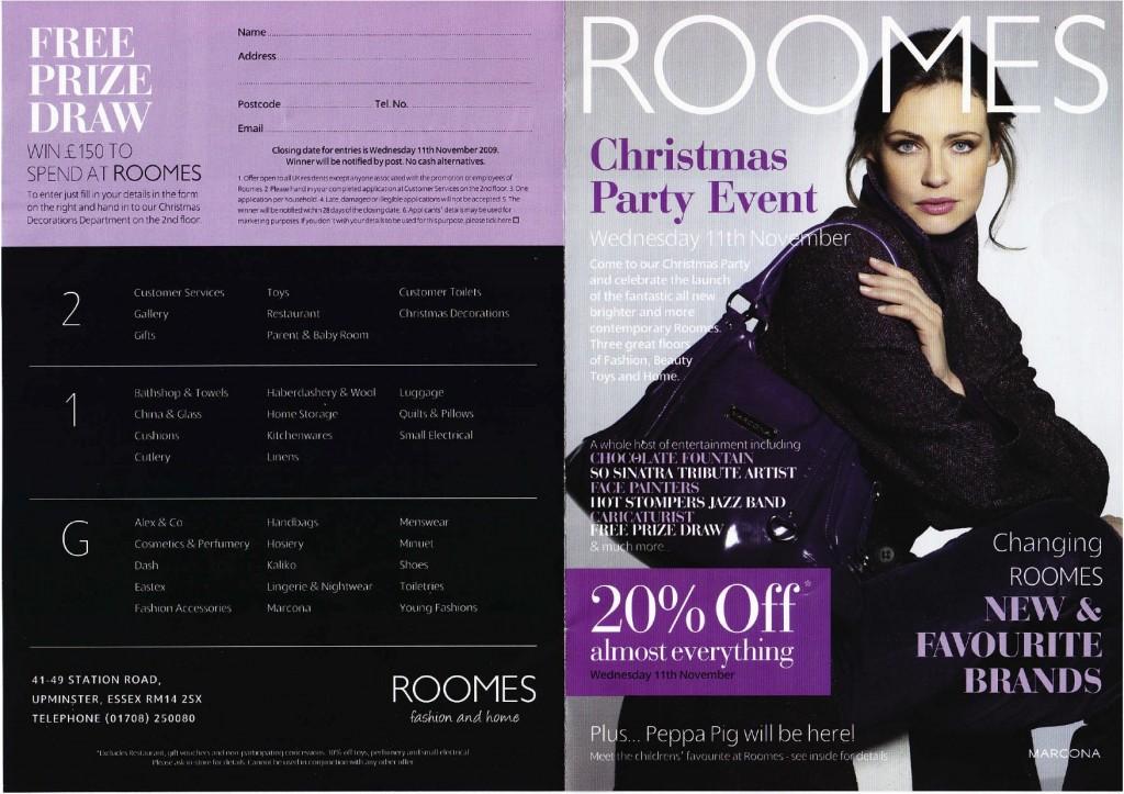 Roomes Brochure