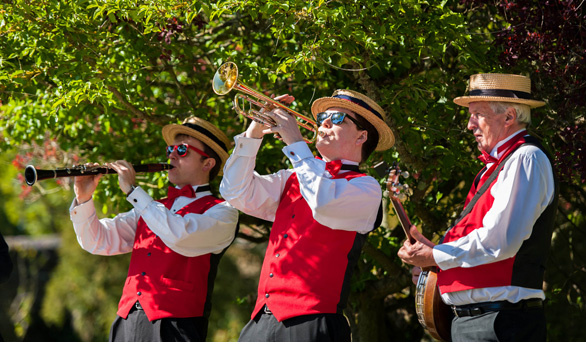 Silk Street JAzz - the perfect vintage wedding jazz band