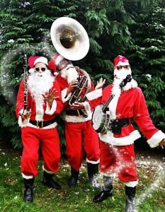 The Silk Street Santas bringing a Jazzed up Christmas to the NEC Birmingham