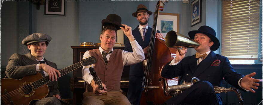 The Jazz Spivs Great Gatsby Band