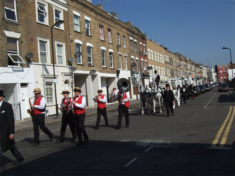 Funeral brass band